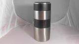 碳纖維裝飾316L雙層不鏽鋼杯