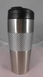 Carbon Fiber White Grip #304 stainless mug